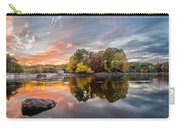 Sunset At Cambridge Reservoir Carry-all Pouch