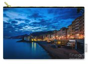 Sunset At Camogli In Liguria - Italy Carry-all Pouch