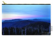 Sunset At Clingman's Dome Carry-all Pouch