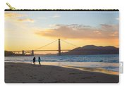 Sunset At Crissy Field With Golden Gate Bridge San Francisco Ca 5 Carry-all Pouch