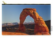 Sunset At Delicate Arch Carry-all Pouch
