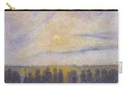 Sunset At Eragny, 1890 Carry-all Pouch