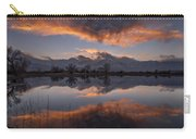 Sunset At Farmer's Pond Carry-all Pouch