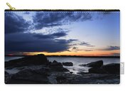 Sunset At Fort Getty Carry-all Pouch