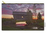 Sunset At Foster Bridge Carry-all Pouch