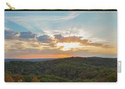 Sunset At Garden Of The Gods Carry-all Pouch