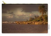 Sunset At Haleiwa Beach Oahu Hawaii V3 Carry-all Pouch