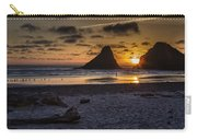 Sunset At Heceta Beach Carry-all Pouch