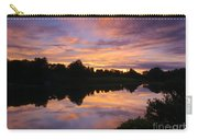 Sunset At Japanese Garden Carry-all Pouch