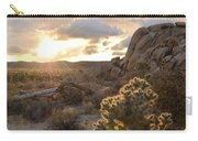 Sunset At Joshua Tree National Park Carry-all Pouch