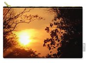 Sunset At Jungle Carry-all Pouch