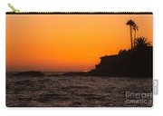 Sunset At Laguna Beach Carry-all Pouch