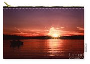Sunset At Lake Of The Woods Carry-all Pouch