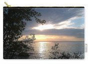 Sunset At Lake Winnipeg Carry-all Pouch