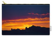 Sunset At Landscape Arch Carry-all Pouch