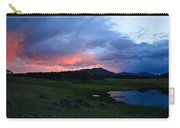 Sunset At Locke's Pond - Big Horn Mountains - Buffalo Wyoming Carry-all Pouch