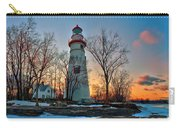 Sunset At Marblehead Lighthouse Carry-all Pouch