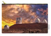 Sunset At Mauna Kea Summit Carry-all Pouch