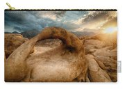 Sunset At Mobius Arch Carry-all Pouch