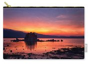 Sunset At Mono Lake Carry-all Pouch