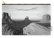 Sunset At Monument Valley, Monument Carry-all Pouch