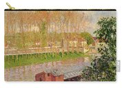 Sunset At Moret Sur Loing Carry-all Pouch