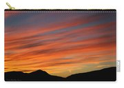Sunset At Mt. Ord Carry-all Pouch