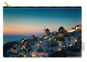 Sunset At Oia Carry-all Pouch