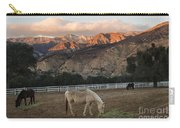 Sunset At Rancho Oso Carry-all Pouch