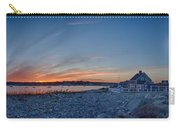 Sunset At Scituate Light Carry-all Pouch