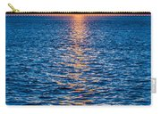 Sunset At Sea With Multiple Color Prizm Carry-all Pouch