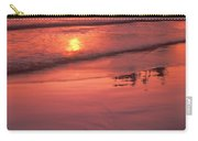 Sunset At Second Beach Olympic National Park Carry-all Pouch