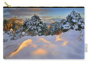 Sunset At Sierra Nevada Carry-all Pouch