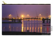 Sunset At Southampton Docks Carry-all Pouch