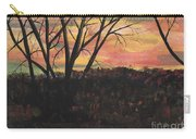 Sunset At Spring City Tenn Carry-all Pouch