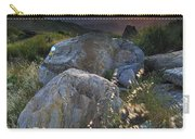 Sunset At The Windy Mountains Carry-all Pouch