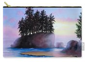 Sunset At Tongue Point Carry-all Pouch