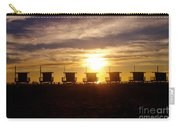 Sunset At Venice Beach Carry-all Pouch