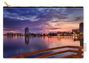 Sunset Balcony Of The West Palm Beach Skyline Carry-all Pouch