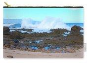Sunset Beach Crashing Wave - Oahu Hawaii Carry-all Pouch