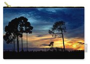 Sunset Behind The Trees Carry-all Pouch