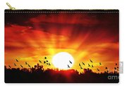 Sunset Birds Carry-all Pouch