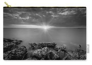 Sunset Bliss Bw Carry-all Pouch