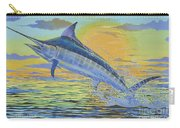 Sunset Blue Off0085 Carry-all Pouch