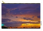 Sunset By Causeway Bridge Carry-all Pouch