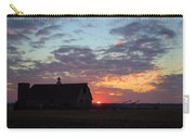 Sunset By The Barn Carry-all Pouch