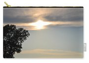Sunset By Tree Carry-all Pouch