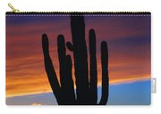 Sunset Cactus Carry-all Pouch