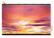 Sunset, Canyon De Chelly, Arizona, Usa Carry-all Pouch
