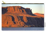 Sunset Cliffs At Horsethief  Carry-all Pouch by Talya Johnson